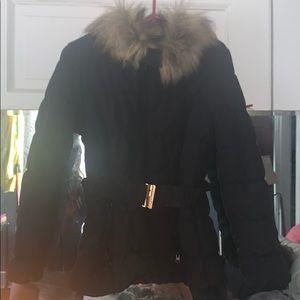 Winter coat with fur